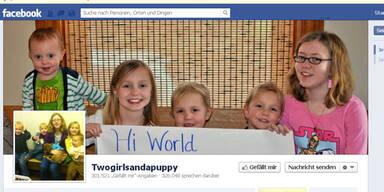 Kinder sammeln 1 Mio. Likes für Hündchen