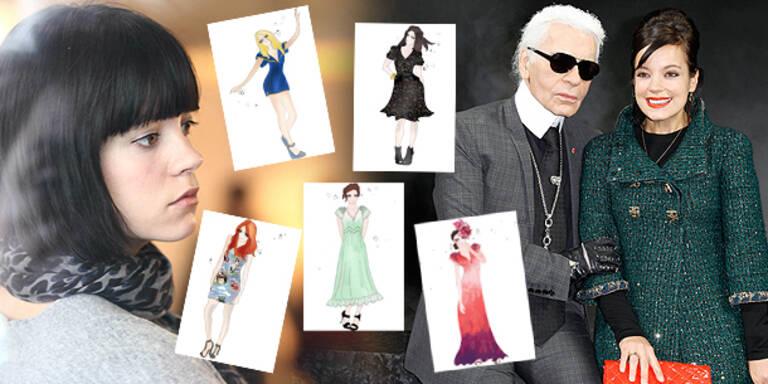 Lily Allen entwirft jetzt Kleider