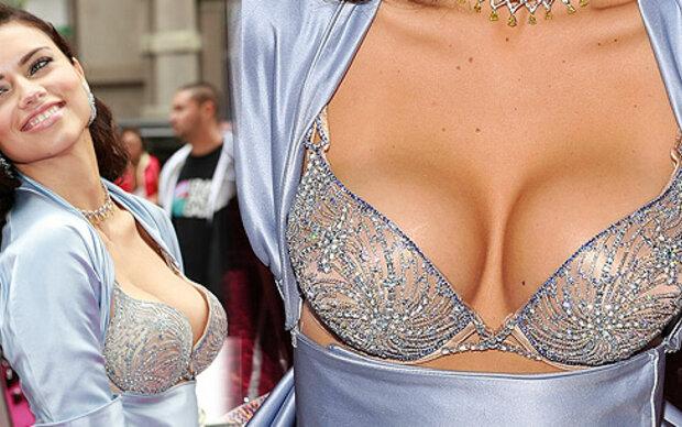 Adriana Lima im 2-Millionen-Dollar-BH