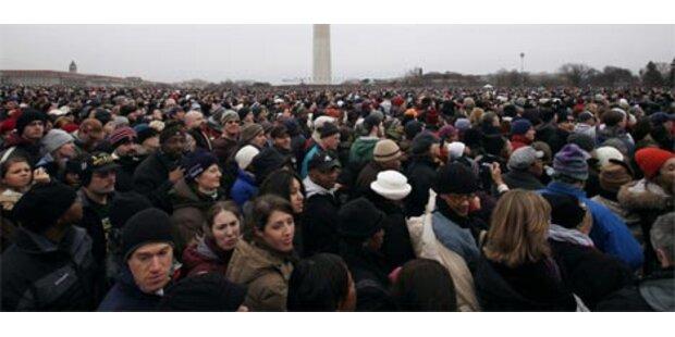 Mammutkonzert für Barack Obama