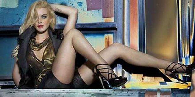 Lindsay Lohans frecher Luder-Look
