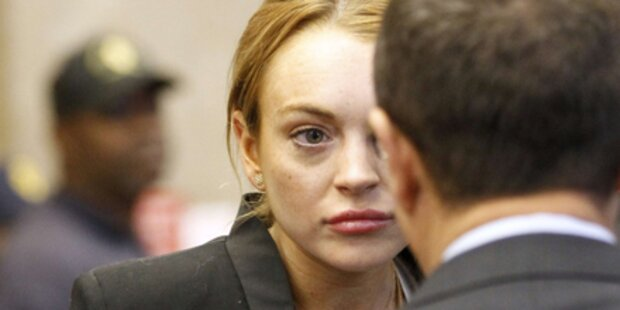Lindsay Lohan: Tränen vor Gericht