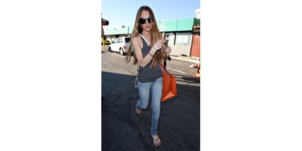 Mager-Alarm um Lindsay Lohan