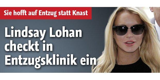 Lindsay Lohan geht in eine Entzugsklinik