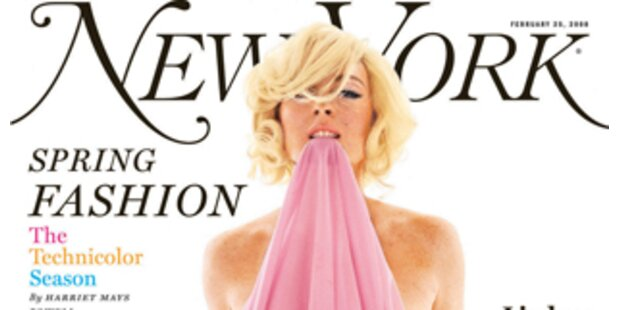 Lindsay Lohan - Nackt wie Marilyn Monroe