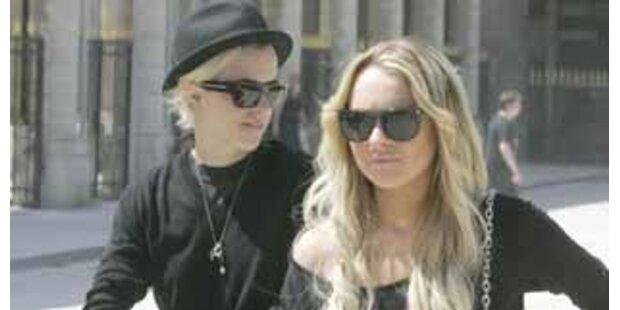 Liebesurlaub? Lohan mit lesbischer DJane in Paris