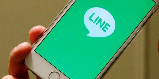 WhatsApp-Gegner Line startet durch