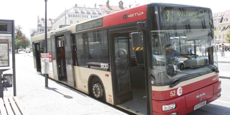 Unbekannter schoss auf Klagenfurter Linienbus