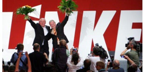 Linkspartei für rot-grüne Minderheitsregierung