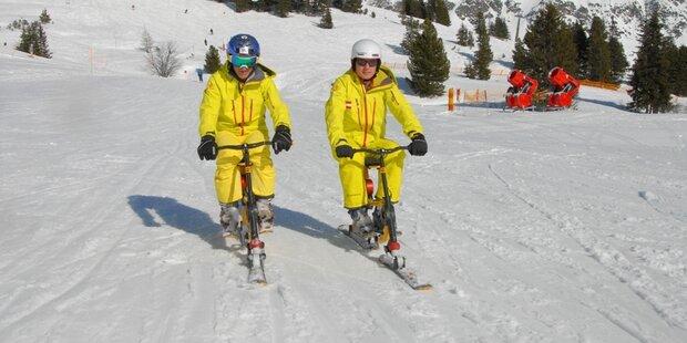 50.000 Höhenmeter - 24 Std. - 1 Snowbike
