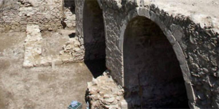 Brücke aus 18. Jahrhundert in Linz entdeckt
