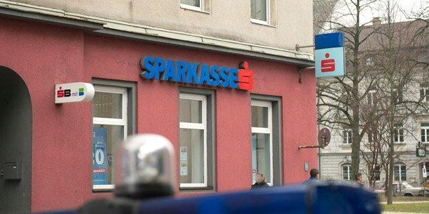 Bankräuber nach Flucht geschnappt
