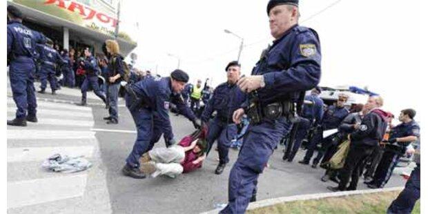 KPÖ fordert Rücktritt von Polizeichef