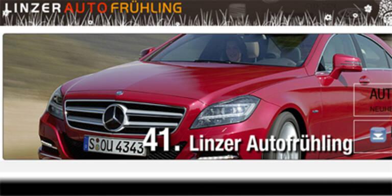 Linzer Autofrühling mit zahlreichen Premieren