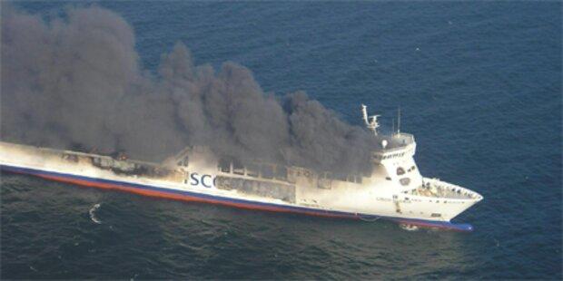 Feuer auf Ostseefähre ist aus