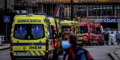 Corona-Hölle Portugal: Patienten warten 12 Stunden auf Aufnahme