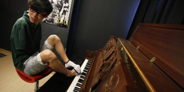 Armloser Pianist ist Chinas