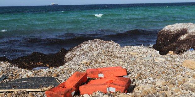 133 Leichen an libyscher Küste angespült