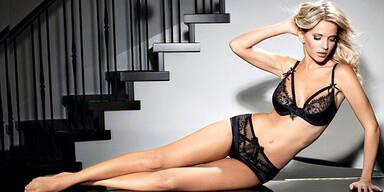 Michael Bublés Frau als sexy Dessous Model