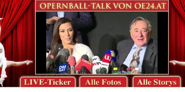 LIVE-Talk zum Opernball auf oe24
