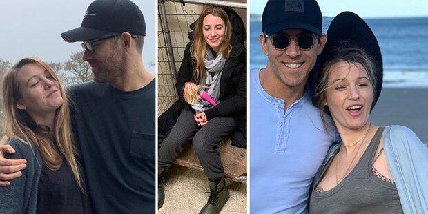 Reynolds: Er zeigt seine Blake ganz privat