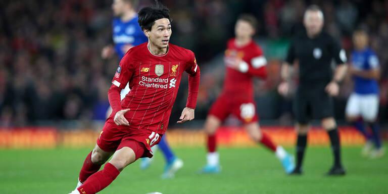 Derby-Sieg für Liverpool - Minamino mit Debüt
