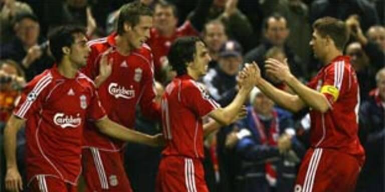 Liverpool-Lawine überrollt Besiktas