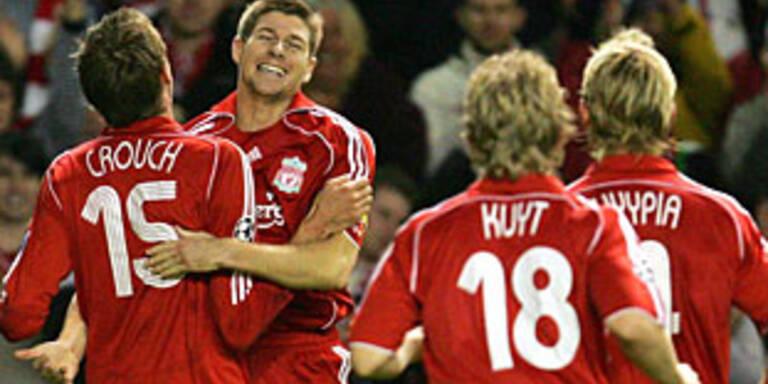 Liverpool und Real zogen ins Achtelfinale ein