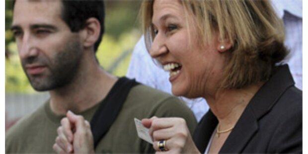 Livni fordert raschen Olmert-Rücktritt