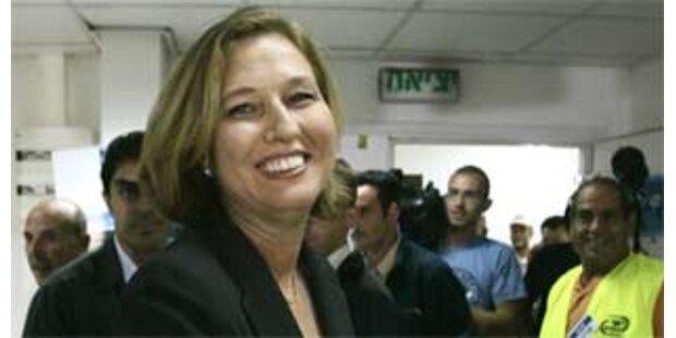 Livnis Kadima-Partei koaliert mit Arbeitspartei