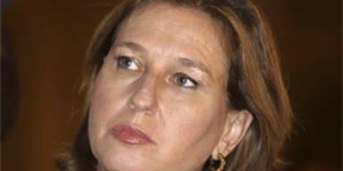 """Livni: """"Müssen Teile des Landes Israel aufgeben"""""""