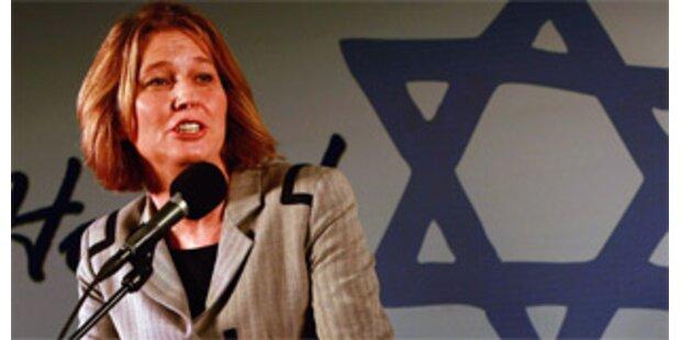 Livni mit Regierungsbildung beauftragt
