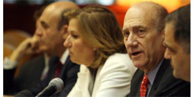 Livni fordert sofortigen Rücktritt Olmerts