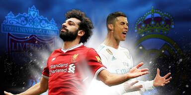 Spiel der Spiele: Real gegen Liverpool