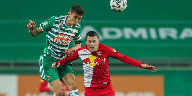1:1 - Rapid gegen Salzburg