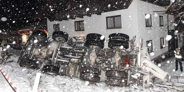 Schnee LKW