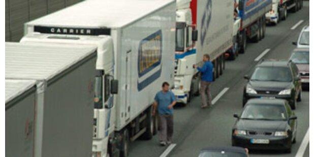 EU bereitet Klage wegen Tiroler Lkw-Fahrverbot vor