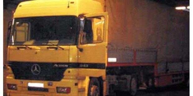 Slowakischer Lkw-Lenker volltrunken auf A9 unterwegs