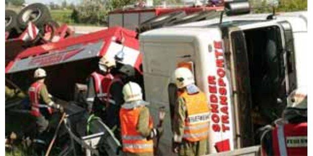 Tödlicher Lkw-Unfall auf der Mühlkreisautobahn
