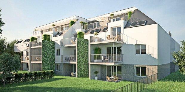 Eigentumswohnungen in grüner Ruhelage