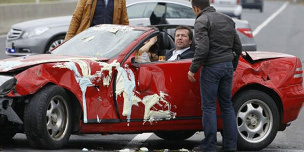 Cobra 11: Loddar zerlegt Mercedes