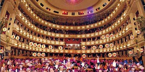 Der geheime Opernball-Logenplan