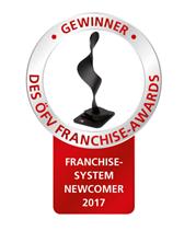 Franchise Award Newcomer des Jahres 2017