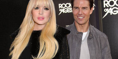 Lindsay Lohan, Tom Cruise