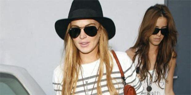 Lindsay Lohan fällt durch Drogentest