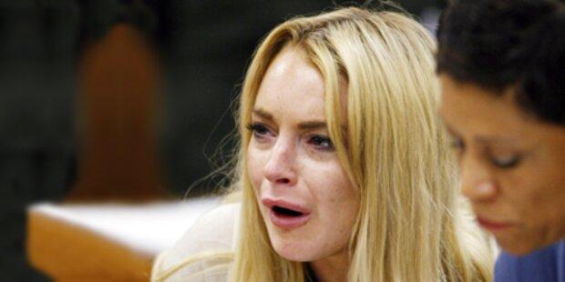 Wieder Haft: Lindsay Lohan vor Gericht!