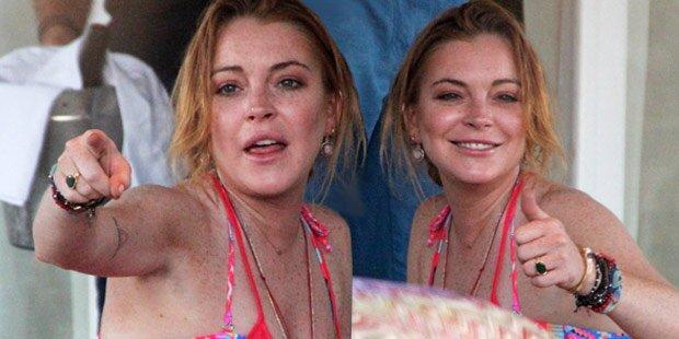 Lindsay Lohan: Total versoffen im Urlaub