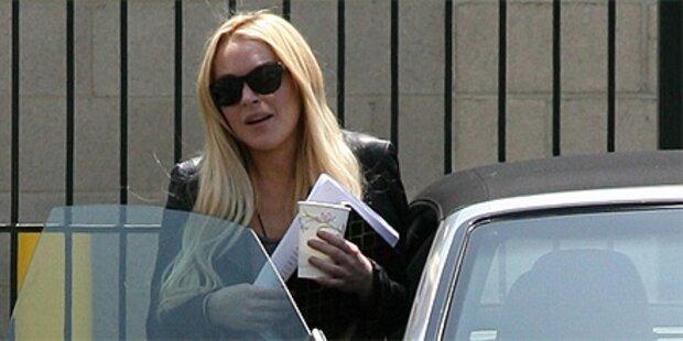 Lindsay Lohan arbeitet jetzt im Frauenhaus