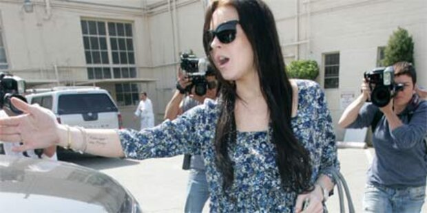 Lohan pleite: Kein Geld für Lugner