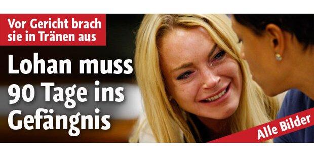 Lindsay Lohan muss ins Gefängnis